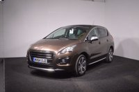 USED 2014 64 PEUGEOT 3008 1.6 E-HDI ALLURE 5d AUTO 115 BHP HEADS UP DISPLAY + PANORAMIC ROOF + PART LEATHER