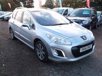 2014 PEUGEOT 308 1.6 E-HDI SW ACTIVE NAVIGATION VERSION 5d 115 BHP £6500.00