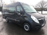 USED 2012 VAUXHALL MOVANO 2.3 F3500 L3H2 CREWCAB 150BHP GREAT DRIVER, CONTRACT MAINTAINED FROM NEW, GREAT WORK VAN
