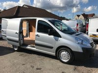 USED 2015 15 PEUGEOT EXPERT 2.0 HDi (EU5) L1 H1 Professional 4dr 1 OWNER FSH A/C CRUISE 6 SPEED