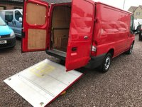 USED 2012 12 FORD TRANSIT 2.2 TDCi 280 S Low Roof Panel Van 5dr (EU5, SWB) TAIL LIFT A/C 64K FSH MOTO X?
