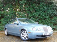 USED 2005 05 JAGUAR S-TYPE 2.5 V6 SE 4d AUTO 201 BHP FULL LEATHER, SATELLITE NAVIGATION