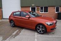 2012 BMW 1 SERIES 2.0 118D SPORT 5d 141 BHP £7890.00