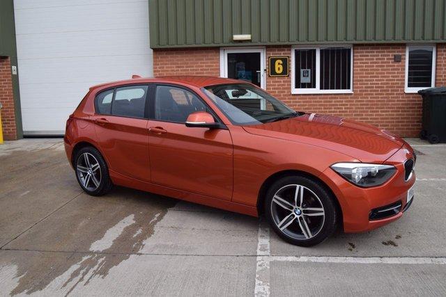 2012 62 BMW 1 SERIES 2.0 118D SPORT 5d 141 BHP