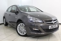 USED 2013 63 VAUXHALL ASTRA 1.4 ENERGY 5DR 98 BHP SERVICE HISTORY + PARKING SENSOR + CRUISE CONTROL + MULTI FUNCTION WHEEL + AIR CONDITIONING + 17 INCH ALLOY WHEELS