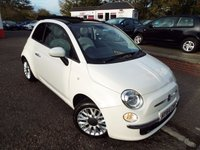 USED 2014 64 FIAT 500 1.2 C LOUNGE 3d 69 BHP ONE Owner Service History