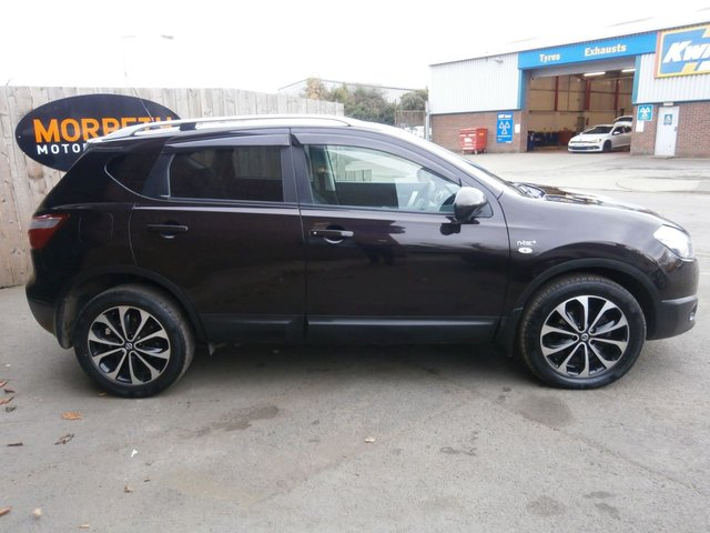 2012 12 NISSAN QASHQAI 1.6 N-TEC PLUS IS DCIS/S 5d 130 BHP
