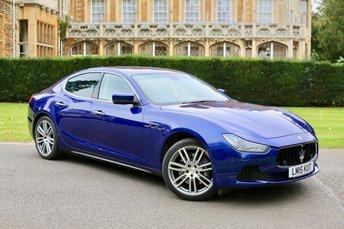 2015 MASERATI GHIBLI 3.0 S 4d AUTO 410 BHP £36490.00