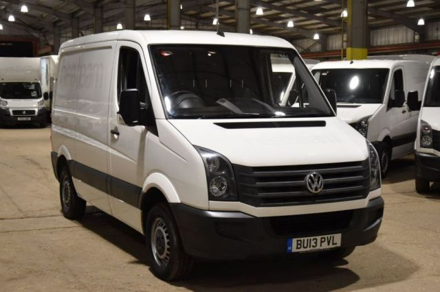 2013 13 VOLKSWAGEN CRAFTER 2.0 CR30 TDI 5d 107 BHP FWD SWB LOW ROOF AIR CON DIESEL PANEL MANUAL VAN ONE OWNER S/H SPARE KEY