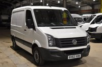 USED 2012 62 VOLKSWAGEN CRAFTER 2.0 CR30 TDI 5d 107 BHP FWD SWB LOW ROOF AIR CON DIESEL PANEL MANUAL VAN ONE OWNER S/H CAMBELT CHANGE 75K