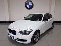USED 2013 13 BMW 1 SERIES 2.0 118D SPORT 5d 141 BHP Bmw History(Just Had Clutch)2 Prev Owners/£30 Road Tax
