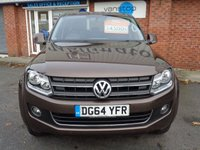 USED 2014 64 VOLKSWAGEN AMAROK 2.0 DC TDI HIGHLINE 4MOTION 1d 178 BHP