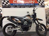 2017 QINGQI QM SINNIS APACHE 125cc £1495.00