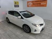 2013 TOYOTA AURIS 1.8 EXCEL VVT-I 5d AUTO 99 BHP £10496.00
