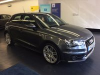 "USED 2013 13 AUDI A1 1.4 SPORTBACK TFSI S LINE 5d AUTO 185 BHP OPEN SKY PANORAMIC ROOF, 18"" ALLOYS, ONLY 21,000 MILES , AUTO"