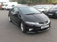 2011 HONDA CIVIC 1.8 I-VTEC TYPE S GT 3d LAST SERVICED AT 59,450 £6000.00