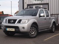 2011 NISSAN NAVARA 3.0 OUTLAW DCI 4X4 DCB 1d AUTO 228 BHP NO VAT ON THIS VEHICLE £10995.00