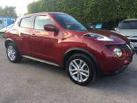 2015 NISSAN JUKE 1.5 DCI ACENTA PREMIUM 5d SAT NAV AND LOW MILEAGE  £10000.00