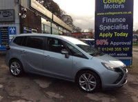 USED 2014 64 VAUXHALL ZAFIRA TOURER 2.0 SRI CDTI 5d 128 BHP, only 39000 miles *****FINANCE AVAILABLE APPLY ONLINE******
