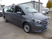 USED 2016 16 MERCEDES-BENZ VITO 114 BLUETEC TOURER PRO, 136 BHP [EURO 6], AIR CON, LOW MILES, 1 COMPANY OWNER