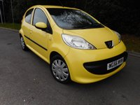 USED 2007 56 PEUGEOT 107 1.0 URBAN 5d 68 BHP *INSURANCE GROUP 1 * £20 ROAD TAX*
