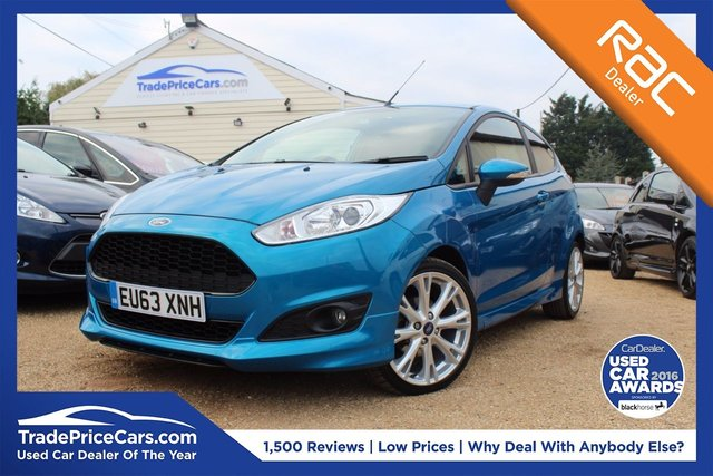 View our 2013 63 FORD FIESTA 1.6 ZETEC S TDCI 3d 94 BHP