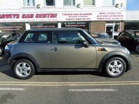 USED 2012 12 MINI HATCH FIRST 1.6 FIRST 3d 75 BHP