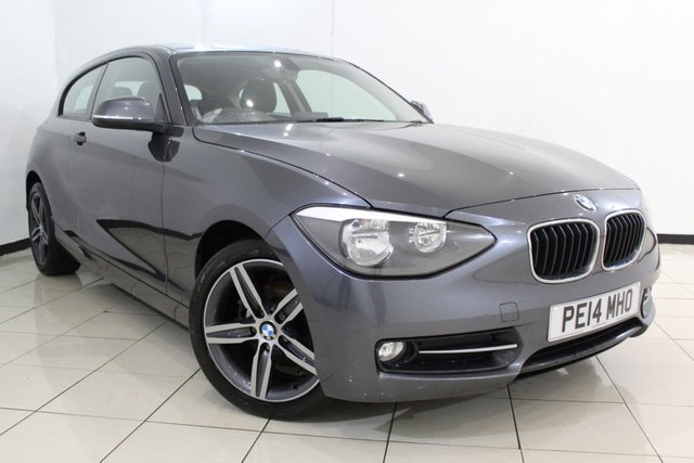View our 2014 14 BMW 1 SERIES 2.0 118D SPORT 3DR 141 BHP
