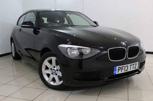 View our 2013 13 BMW 1 SERIES 1.6 114I ES 3DR 101 BHP