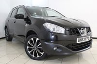 USED 2013 63 NISSAN QASHQAI+2 1.6 DCI 360 IS PLUS 2 5DR 130 BHP FULL SERVICE HISTORY + HALF LEATHER SEATS + 7 SEATS + REVERSE CAMERA WITH 360 DEGREE VIEW + BLUETOOTH + ELECTRIC PANORAMIC ROOF + CRUISE CONTROL + 18 INCH ALLOY WHEELS