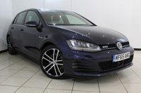 USED 2015 65 VOLKSWAGEN GOLF 2.0 GTD 5DR 181 BHP SAT NAVIGATION + PARKING SENSOR + BLUETOOTH + CRUISE CONTROL + MULTI FUNCTION WHEEL + AUXILIARY PORT + ALLOY WHEELS