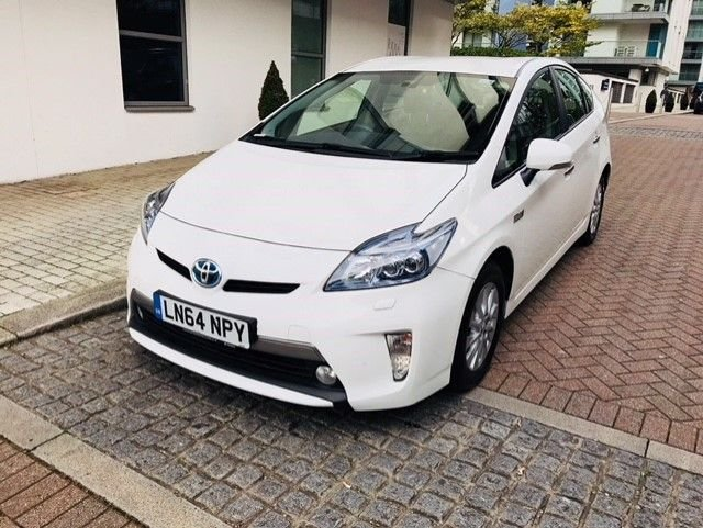 2014 64 TOYOTA PRIUS 1.8 PLUG-IN HYBRID 5d AUTO 99 BHP