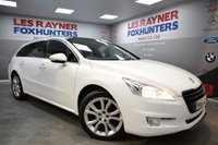 USED 2013 63 PEUGEOT 508 2.0 HDI SW ACTIVE NAVIGATION VERSION 5d 140 BHP 1 owner , Sat Nav , bluetooth , climate control
