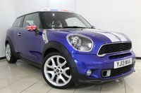 USED 2013 13 MINI PACEMAN 1.6 COOPER S CHILI 3DR 190 BHP COUPE