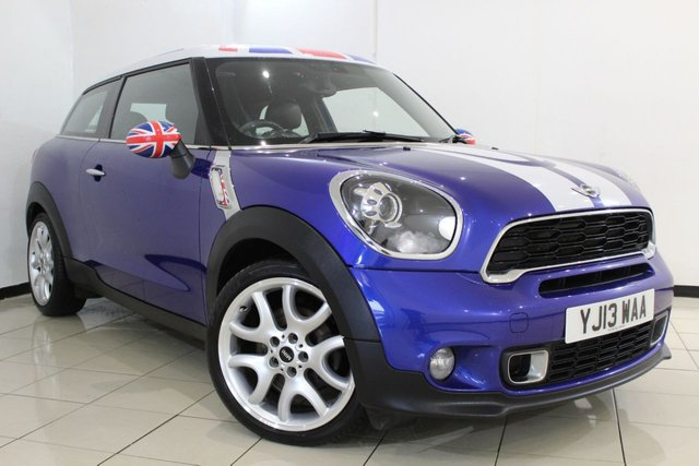 View our 2013 13 MINI PACEMAN 1.6 COOPER S CHILI 3DR 190 BHP