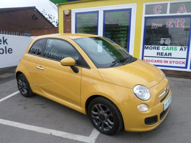 USED 2014 64 FIAT 500 1.2 S 3d 69 BHP JUST ARRIVED TEST DRIVE TODAY..FINANCE AVAILABLE