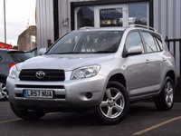 USED 2007 57 TOYOTA RAV4 2.0 XT3 VVT-I 5d 151 BHP Full Service History 7 Stamps, High seating position, Toyota reliability, Mot until 29/10/18.