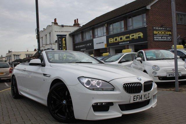 2014 14 BMW 6 SERIES 3.0 640D M SPORT 2d AUTO 309 BHP