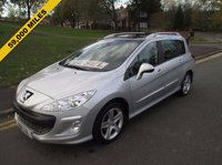 USED 2011 11 PEUGEOT 308 1.6 SW SPORT HDI 5d 110 BHP 59,000 GUARANTEED MILES - 1 LADY OWNER + SUPPLYING DEALER - SERVICE HISTORY