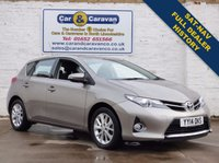 USED 2014 14 TOYOTA AURIS 1.6 ICON VALVEMATIC 5d 130 BHP Full Dealer History SAT-NAV 0% Deposit Finance Available