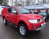 USED 2013 13 MITSUBISHI L200 2.5 DI-D 4X4 BARBARIAN LB DCB 1d 175 BHP 0% FINANCE AVAILABLE PLEASE CALL 01204 317705.