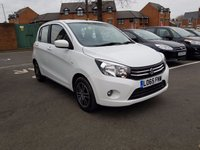 USED 2015 65 SUZUKI CELERIO 1.0 SZ4 5d AUTO 67 BHP WITH AIR CONDITIONING, AND ALLOY WHEELS!..£0 ROAD TAX!..LOW CO2 EMISSIONS(99G/KM)..FULL HISTORY..SUZUKI WARRANTY TO 18/12/2018!