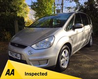 USED 2007 07 FORD S-MAX 2.0 ZETEC 145 5d 145 BHP