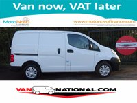 2015 NISSAN NV200 1.5 DCI ACENTA 1d 90 BHP ONE OWNER REVERSE CAMERA £5950.00