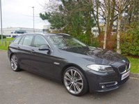 2013 BMW 5 SERIES 2.0 520D LUXURY TOURING 5d AUTO 181 BHP £13990.00