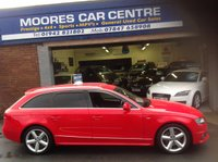 USED 2009 59 AUDI A4 2.0 AVANT TDI S LINE SPECIAL EDITION 5d 141 BHP ....Stunning Car.....Low Miles