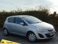 USED 2011 11 VAUXHALL CORSA 1.2 EXCLUSIV AC CDTI ECOFLEX 5d * 128 POINT AA INSPECTED * AVERAGE 67.3 MILES PER GALLON *