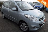 USED 2011 11 HYUNDAI I10 1.2 ACTIVE 5d 85 BHP GREAT VALUE,CONDITION,ECONOMY WITH ONLY £20.00 ROAD TAX