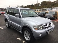 USED 2004 04 MITSUBISHI SHOGUN 3.2 EQUIPPE WARRIOR LWB DI-D 5d 159 BHP One local owner with FSH in exceptional order