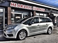 USED 2008 08 CITROEN C4 PICASSO 1.6 GRAND VTR PLUS HDI 5d 110 BHP